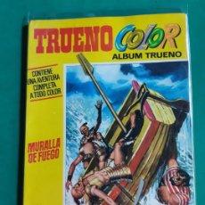 Tebeos: TRUENO COLOR EXTRA Nº 9 ALBUM AMARILLO 1ª ÉPOCA EXCELENTE ESTADO. Lote 192662458