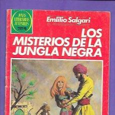 Tebeos: JOYAS LITERARIAS JUVENILES NUMERO 149 LOS MISTERIOS DE LA JUNGLA NEGRA. Lote 192691295