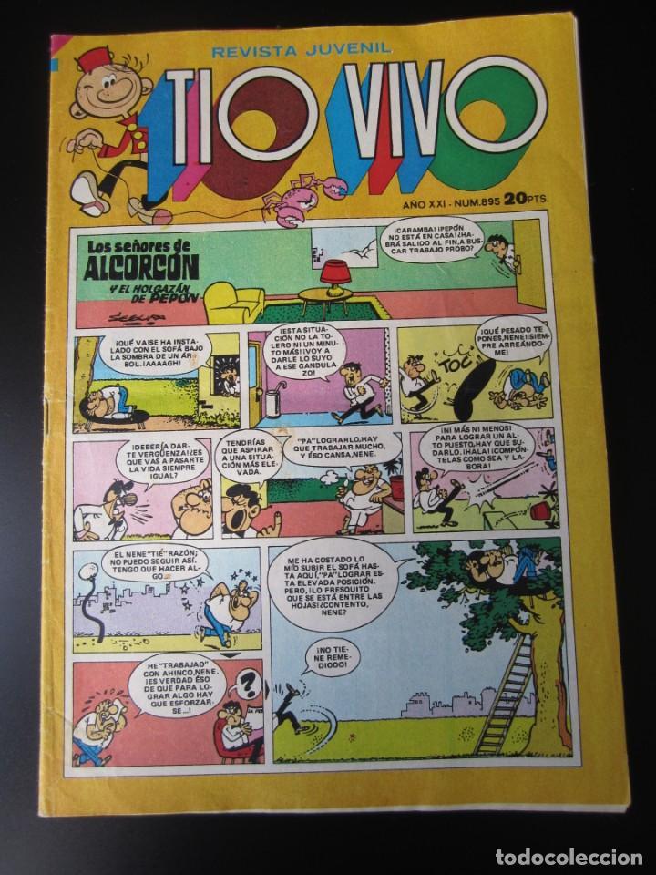 TIO VIVO (1961, BRUGUERA) 895 · 1-V-1978 · TIO VIVO (Tebeos y Comics - Bruguera - Tio Vivo)