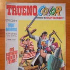 BDs: TRUENO COLOR - SEGUNDA EPOCA Nº 2 - SUPER AVENTURAS Nº 1721 - CAPITAN TRUENO (L). Lote 192878293