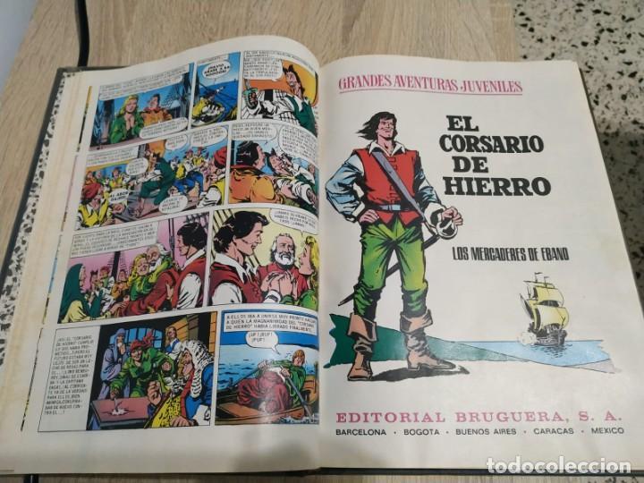 Tebeos: EL CORSARIO DE HIERRO 10 PRIMEROS NUMEROS - Foto 3 - 192908558
