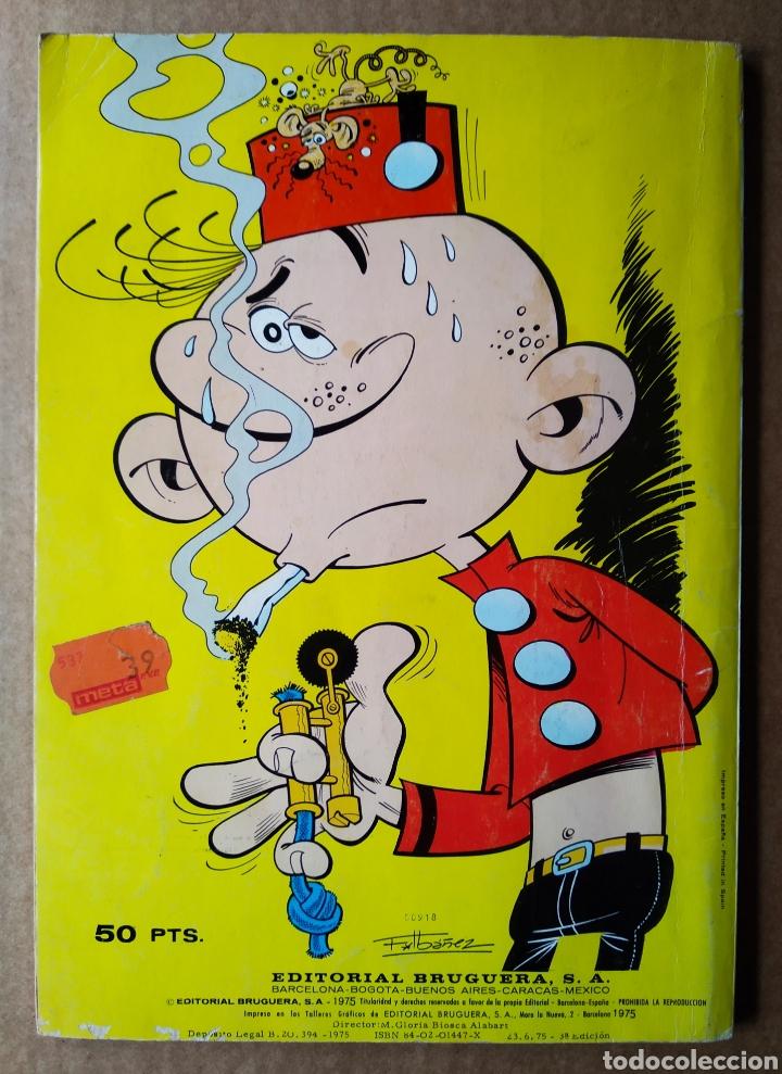 Tebeos: Colección Olé! N°3. El Botones Sacarino: ¡Líos en la Oficina!, por F. Ibáñez (Bruguera, 1975). - Foto 2 - 193080142