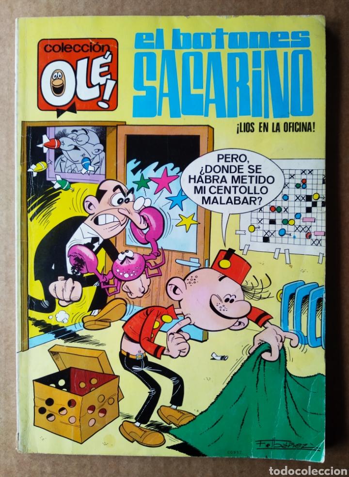 COLECCIÓN OLÉ! N°3. EL BOTONES SACARINO: ¡LÍOS EN LA OFICINA!, POR F. IBÁÑEZ (BRUGUERA, 1975). (Tebeos y Comics - Bruguera - Ole)