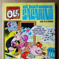 Tebeos: COLECCIÓN OLÉ! N°3. EL BOTONES SACARINO: ¡LÍOS EN LA OFICINA!, POR F. IBÁÑEZ (BRUGUERA, 1975).. Lote 193080142