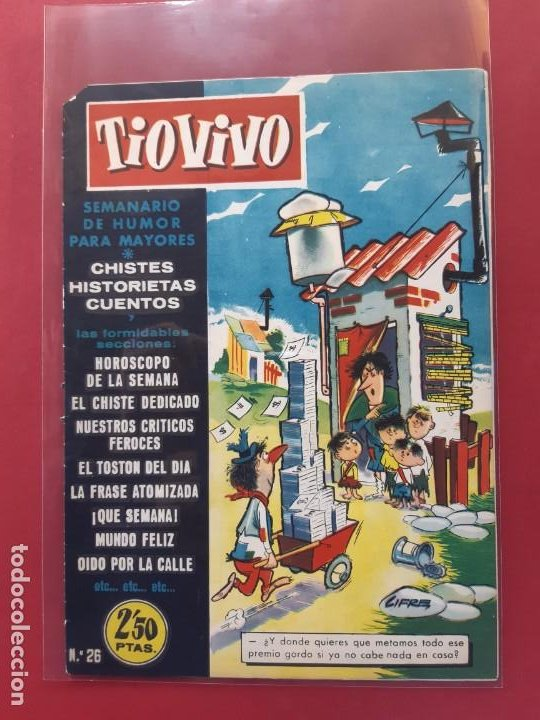 TIO VIVO Nº 26 ESTADO IMPECABLE 1ª EPOCA (Tebeos y Comics - Bruguera - Tio Vivo)