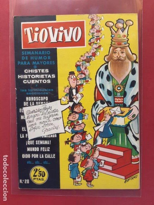 TIO VIVO Nº 28 ESTADO IMPECABLE 1ª EPOCA (Tebeos y Comics - Bruguera - Tio Vivo)