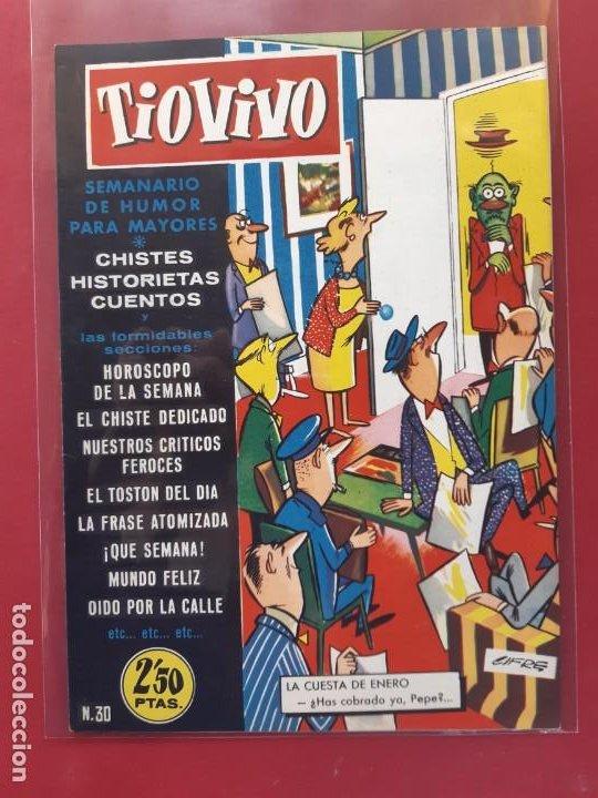 TIO VIVO Nº 30 ESTADO IMPECABLE 1ª EPOCA (Tebeos y Comics - Bruguera - Tio Vivo)