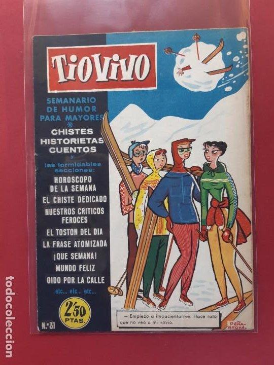 TIO VIVO Nº 31 ESTADO IMPECABLE 1ª EPOCA (Tebeos y Comics - Bruguera - Tio Vivo)