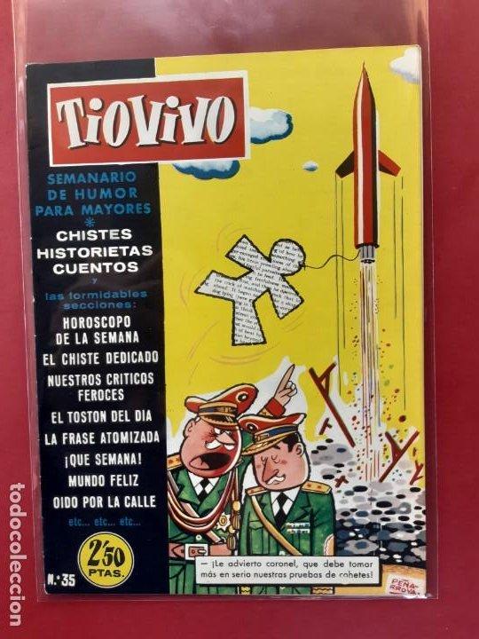 TIO VIVO Nº 35 ESTADO IMPECABLE 1ª EPOCA (Tebeos y Comics - Bruguera - Tio Vivo)