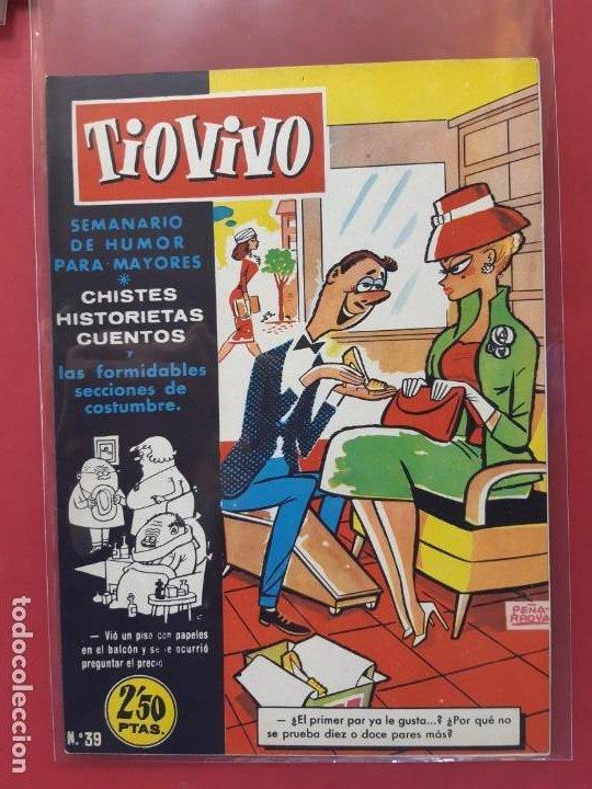 TIO VIVO Nº 39 ESTADO IMPECABLE 1ª EPOCA (Tebeos y Comics - Bruguera - Tio Vivo)