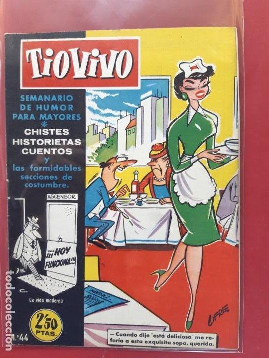 TIO VIVO Nº 44 ESTADO IMPECABLE 1ª EPOCA (Tebeos y Comics - Bruguera - Tio Vivo)