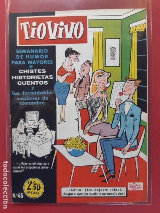 TIO VIVO Nº 45 ESTADO IMPECABLE 1ª EPOCA (Tebeos y Comics - Bruguera - Tio Vivo)