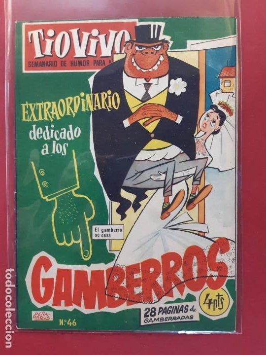 TIO VIVO Nº 46 ESTADO IMPECABLE 1ª EPOCA (Tebeos y Comics - Bruguera - Tio Vivo)