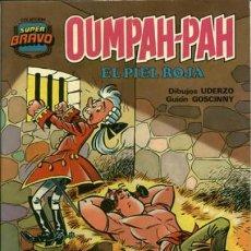 Tebeos: OUMPAH-PAH-COLECCIÓN SUPER BRAVO- Nº 5 -ÚLTIM,COLEC.CONTRA HEPATHITHIS-1982-GOSCINNY-UDERZO-LEA-3046. Lote 193272662