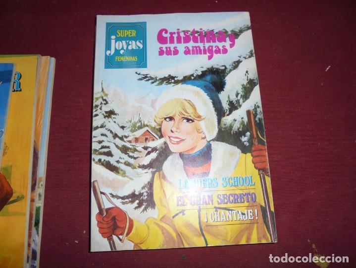 MAGNIFICOS 9 NUMEROS ANTIGUOS DE SUPER JOYAS FEMENINAS (Tebeos y Comics - Bruguera - Joyas Literarias)