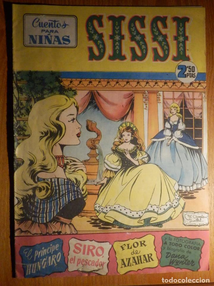 TEBEO - COMIC - SISSI - CUENTOS PARA NIÑAS - DANA WYNTER - Nº 32 - EDICIONES BRUGERA (Tebeos y Comics - Bruguera - Sissi)