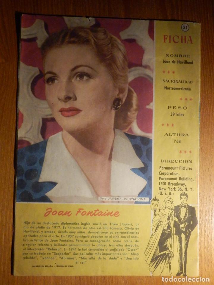Tebeos: TEBEO - COMIC - Sissi - Cuentos para niñas - Joan Fontaine - Nº 31 - EDICIONES Brugera - Foto 2 - 193301325