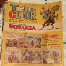 Tebeos: TELE COLOR BONANZA 159. Lote 193343205