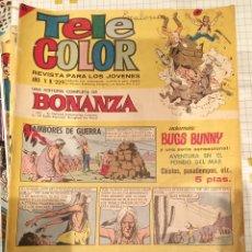 Tebeos: TELE COLOR BONANZA 229. Lote 193343492