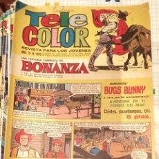 Tebeos: TELE COLOR BONANZA 190. Lote 193343680