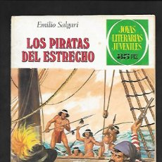 Tebeos: JOYAS LITERARIAS JUVENILES NUMERO 220 LOS PIRATAS DEL ESTRECHO. Lote 193379392