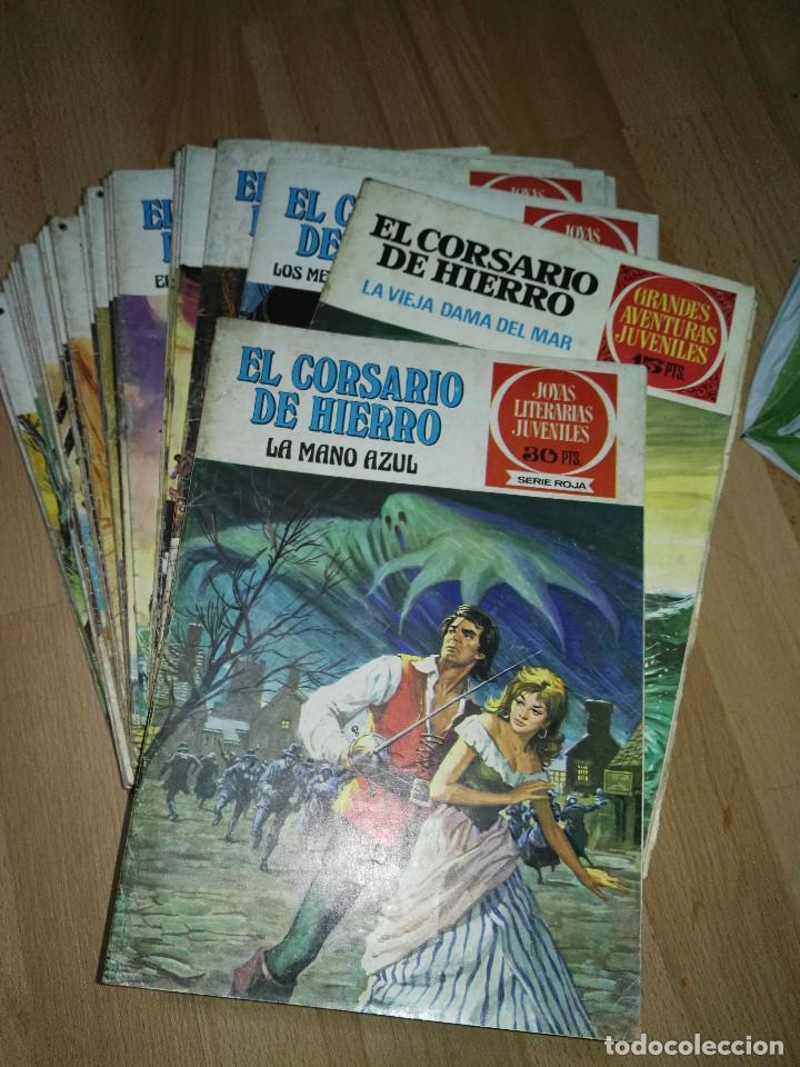 GRAN LOTE DE 37 NÚMEROS DEL 'CORSARIO DE HIERRO' . BRUGUERA (Tebeos y Comics - Bruguera - Corsario de Hierro)