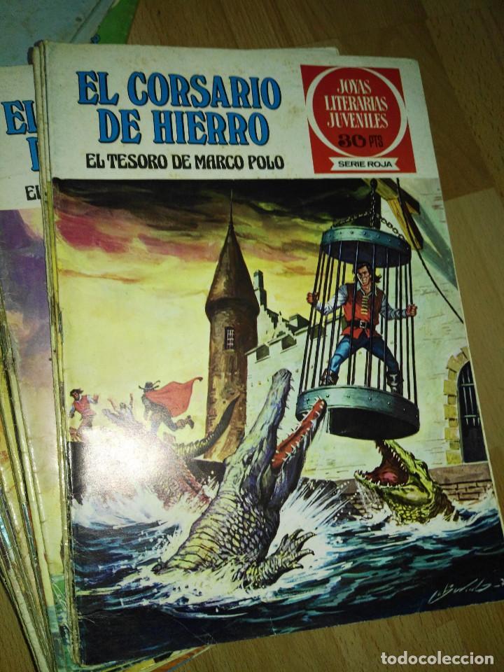 Tebeos: Gran lote de 37 números del Corsario de Hierro . Bruguera - Foto 4 - 193430268