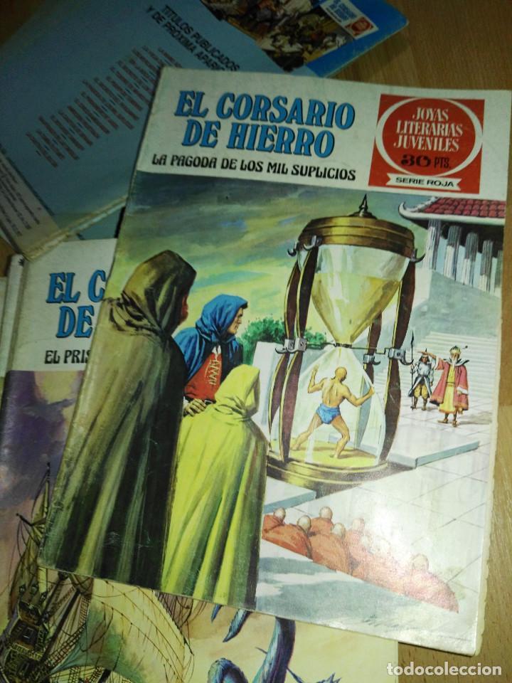 Tebeos: Gran lote de 37 números del Corsario de Hierro . Bruguera - Foto 5 - 193430268