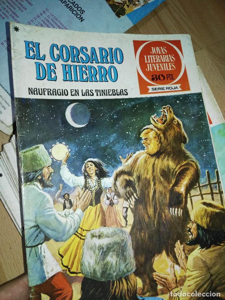 Tebeos: Gran lote de 37 números del Corsario de Hierro . Bruguera - Foto 6 - 193430268