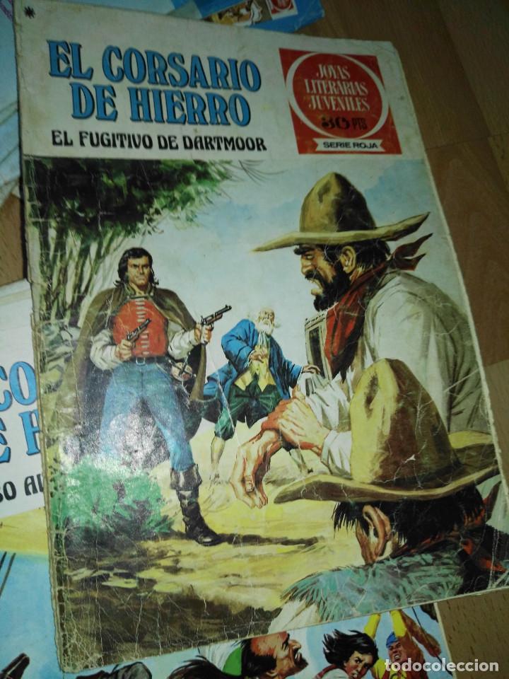 Tebeos: Gran lote de 37 números del Corsario de Hierro . Bruguera - Foto 9 - 193430268