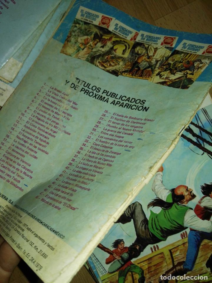 Tebeos: Gran lote de 37 números del Corsario de Hierro . Bruguera - Foto 10 - 193430268