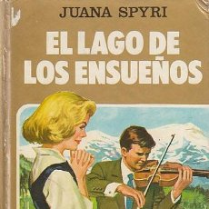 Tebeos: EL LAGO DE LOS ENSUEÑOS, COLECCIÓN MUJERCITAS Nº 7, DIBUJOS LUIS MARTINEZ ROCA, AÑO 1982, 176 PAG. Lote 193620450