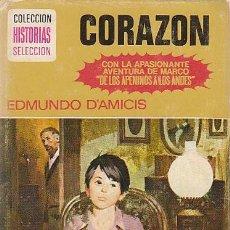 Tebeos: CORAZÓN (MARCO), COLECCIÓN CLASICOS JUVENILES Nº 11, DIBUJOS: ALFREDO IBARRA, AÑO 1976. Lote 193620890
