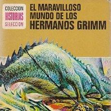 Tebeos: EL MUNDO DE LOS HERMANOS GRIMM, SERIE LEYENDAS Y CUENTOS Nº 9, DIBUJOS: MARCELO GUILLAMON, AÑO 1974. Lote 193621513