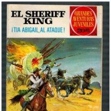 Tebeos: EL SHERIFF KING Nº 68. BRUGUERA, 1ª EDICIÓN 28-4-75. GRANDES AVENTURAS JUVENILES.. Lote 193657628