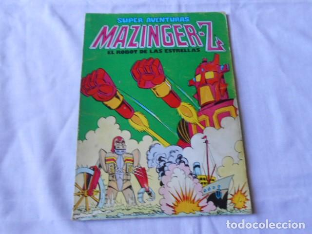 SUPER AVENTURAS MAZINGER -- Z (Tebeos y Comics - Bruguera - Bravo)