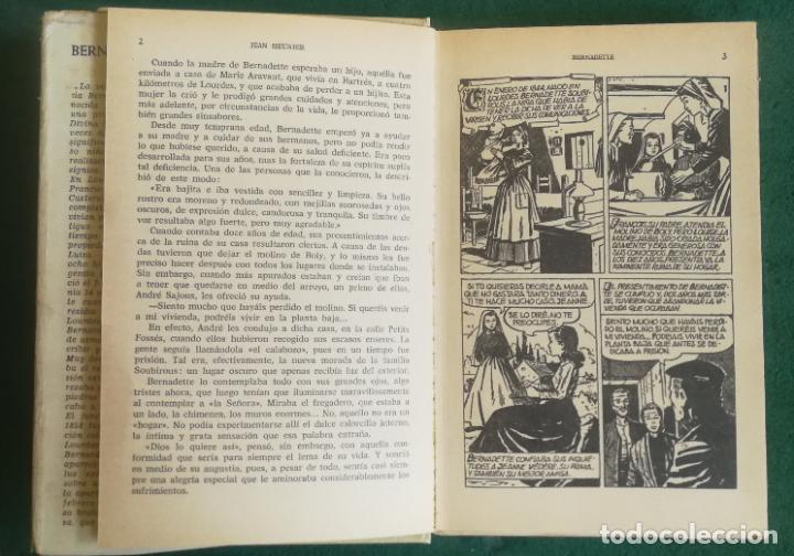 Tebeos: HISTORIAS SELECCIÓN - BERNADETTE 6/73 - SERIE HISTORIA Y BIOGRAFÍA 5 - Foto 5 - 193719280