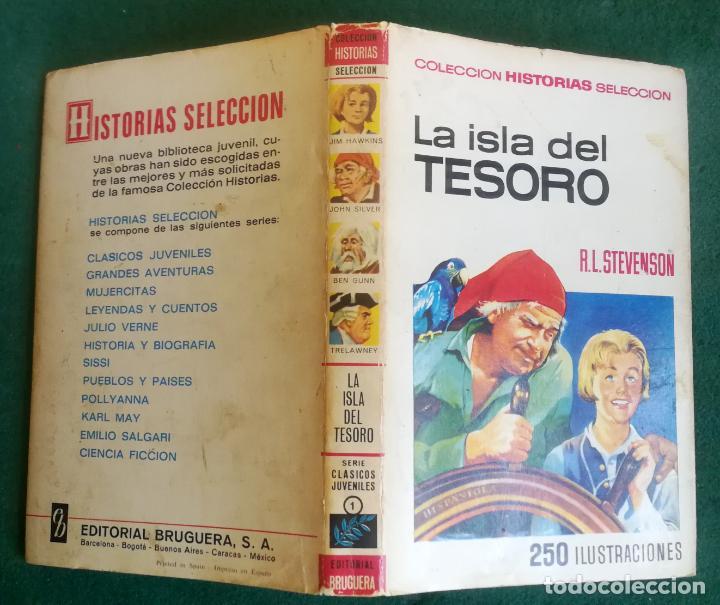 HISTORIAS SELECCIÓN - LA ISLA DEL TESORO 1/67 - SERIE CLASICOS JUVENILES 1 (Tebeos y Comics - Bruguera - Historias Selección)