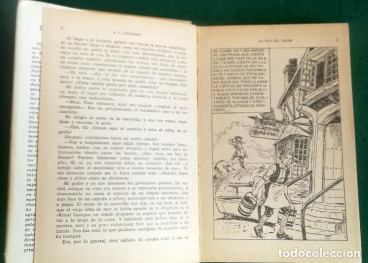 Tebeos: HISTORIAS SELECCIÓN - LA ISLA DEL TESORO 1/67 - SERIE CLASICOS JUVENILES 1 - Foto 4 - 193723567