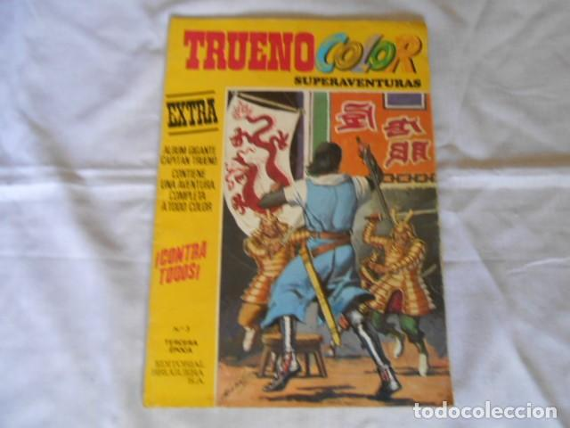 Tebeos: TRUENO Y JABATO SUPERAVENTURAS - Foto 2 - 193734801