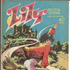 Tebeos: LILY Nº 1048 - AÑO 1982 - CONTIENE POSTER GREG EVIGAN *BILLY JOE Y SU MONO*. Lote 193761260