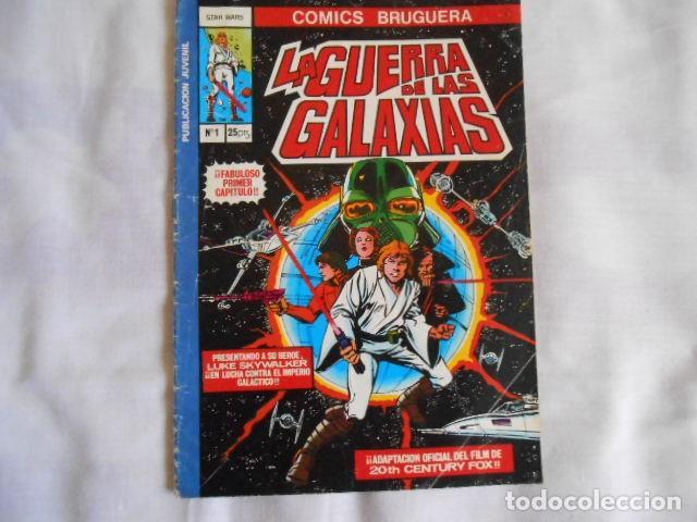 COMICS DOS DE LA GUERRA DE LAS GALAXIAS Y UNO LA MOSCA HUMANA (Tebeos y Comics - Bruguera - Bravo)