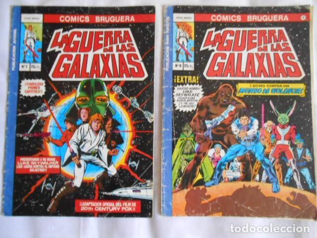 Tebeos: COMICS DOS DE LA GUERRA DE LAS GALAXIAS Y UNO LA MOSCA HUMANA - Foto 3 - 193772308