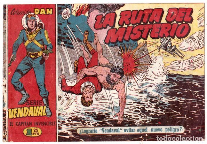 VENDAVAL-CAPITAN INVENCIBLE Nº 17 (ORIGINAL) LA RUTA DEL MISTERIO (Tebeos y Comics - Bruguera - Cuadernillos Varios)