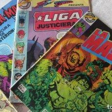 Tebeos: LOTE DE 4 COMICS DE SUPERHEROES EDITADOS POR BRUGUERA. Lote 193772465