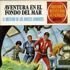 Tebeos: AVENTURA EN EL FONDO DEL MAR-GRANDES AVENTURAS JUVENILES- Nº 44 -EL MISTERIO DE LOS.-1973-BUENO-3065. Lote 193800192
