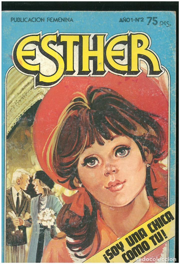 ESTHER. Nº 2. SOY UNA CHICA COMO TU. 1983. C-16 (Tebeos y Comics - Bruguera - Esther)