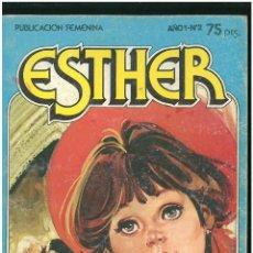 Tebeos: ESTHER. Nº 2. SOY UNA CHICA COMO TU. 1983. C-16. Lote 193823682