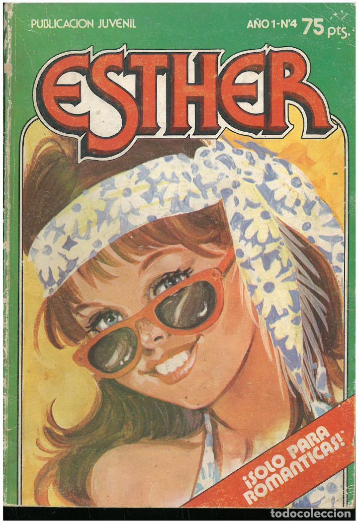 ESTHER. Nº 4. SOLO PARA ROMANTICAS. 1983. C-16 (Tebeos y Comics - Bruguera - Esther)