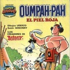 Tebeos: OUMPAH-PAH-COLECCIÓN SUPER BRAVO- Nº 1 -UMPAH-PAH Y PATÉ DE FOIE-1982-GOSCINNY-UDERZO-LEA-3072. Lote 193843115